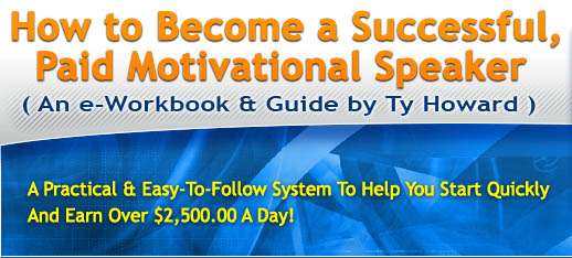how to become a motivational speaker pdf
